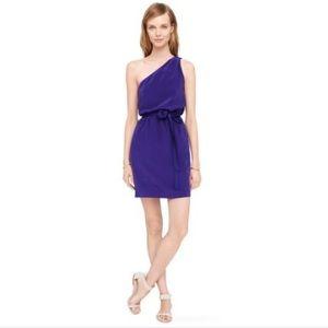 Club Monaco Silk One Shoulder Dress